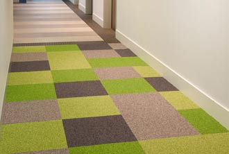 Colorblock Carpet Tiles